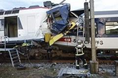 Dwa pociągi zderzyły się w Szwajcarii, jest wielu rannych