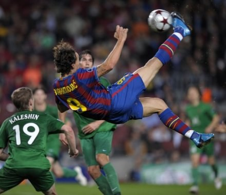 Dwa tygodnie temu Barcelona przegrała z Rubinem Kazań 1:2 /AFP