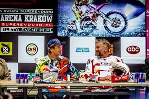 Dwaj mistrzowie zapraszają na polską rundę Mistrzostw Świata SuperEnduro