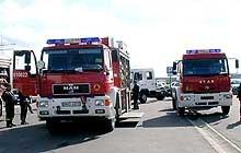 Dwie ciężarówki, dwie marki /INTERIA.PL