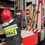 Dwie osoby ranne w wybuchu gazu. Eksplozja wyrwała fragment ściany