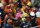 Dwie osoby uratowane spod gruzów po trzęsieniu ziemi na Tajwanie