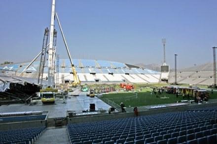 Dwie osoby zginęły podczas budowania sceny na Stade Velodrome /AFP