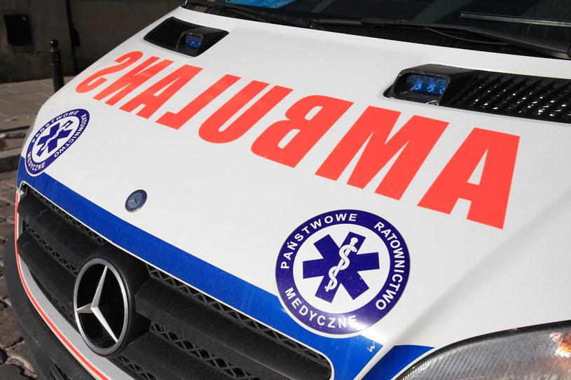 Dwie osoby zostały ranne / zdj. ilustracyjne /Jacek Łagowski /Agencja FORUM
