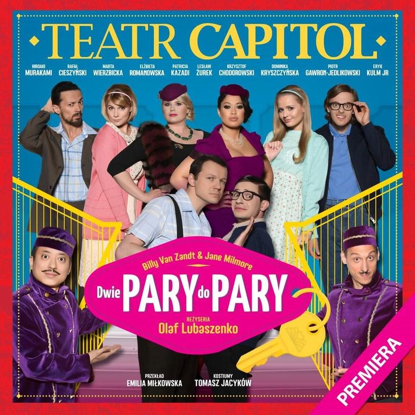 """""""Dwie pary do pray"""" Teatr Capitol /materiały promocyjne"""