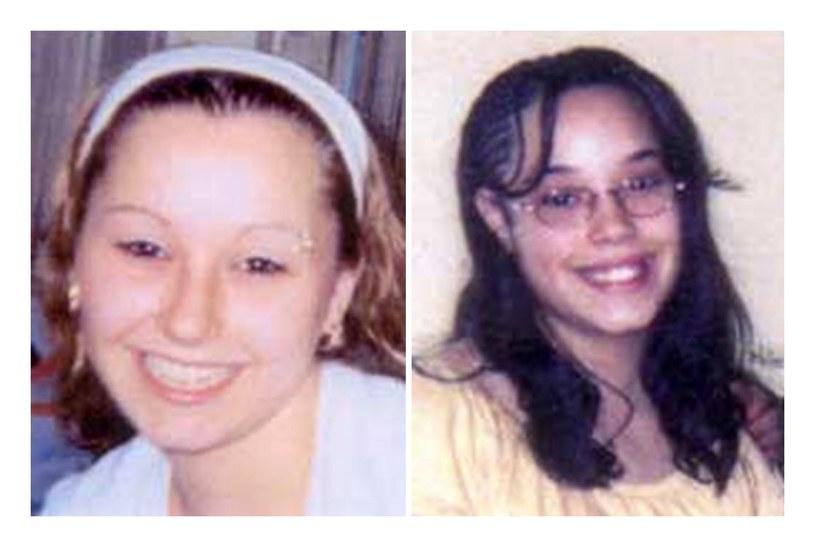 Dwie z zaginionych kobiet - Amanda Berry (z lewej) i Georgina DeJesus /AFP