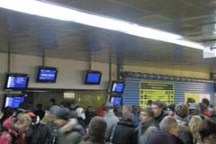 Dworzec Centralny zatłoczony i w remoncie