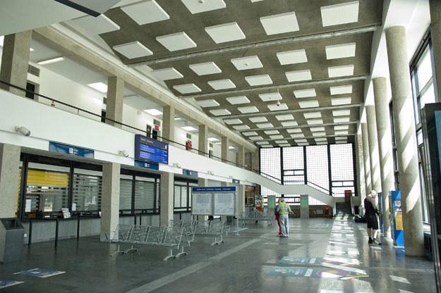 Dworzec Wschodni w Warszawie /Paweł Sonnenburg /Agencja FORUM