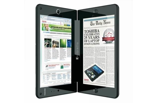 Dwuekranowy tablet - Libretto W100 /materiały prasowe