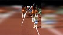 Dwuletnia cheerleaderka skradła show