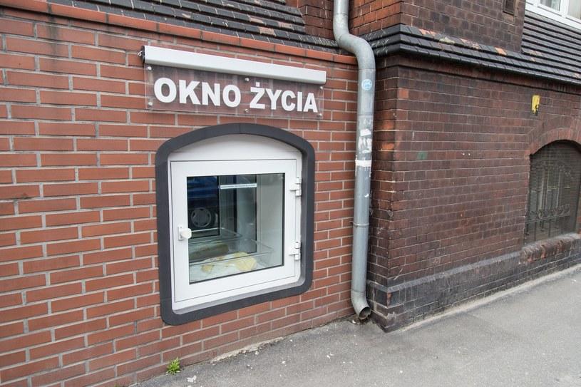 Dwumiesięczny Daniel to czwarte dziecko znalezione we wrocławskim oknie życia /Krzysztof Kaniewski /Reporter