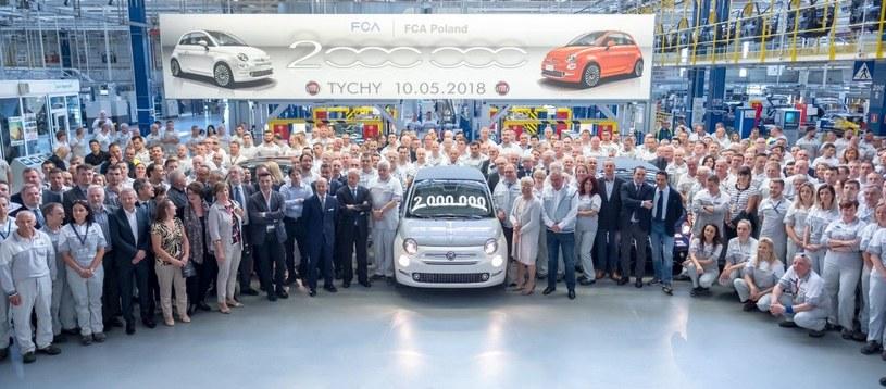 Dwumilionowy egzemplarz Fiata 500 z Tychów /