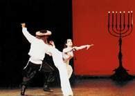Dybuk, choreografia: Maurice Béjart, Paryż 1991 r. /Encyklopedia Internautica