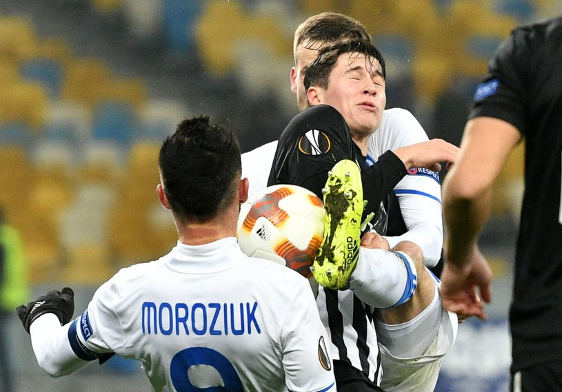 Dymano nie dało szans Partizanowi /AFP