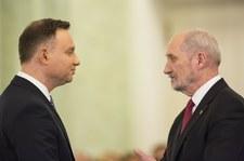 """Dymisja Macierewicza. """"Zdanie prezydenta Dudy było czymś ważnym"""""""