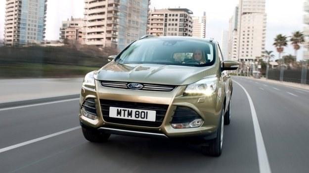 Dynamicznie narysowany przedni pas charakteryzuje się designem typowym dla nowych Fordów. /Ford