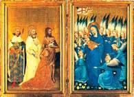 Dyptyk z Wilton, artysta anonimowy, 1395 /Encyklopedia Internautica