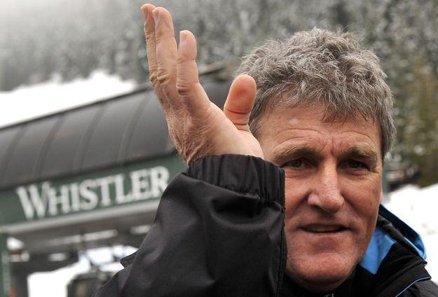 Dyrektor konkurencji alpejskich FIS mężczyzn Guenter Hujara /AFP