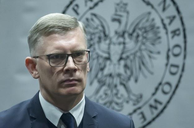 Dyrektor Wojskowego Biura Historycznego Sławomir Cenckiewicz /Wojciech Stróżyk /Reporter