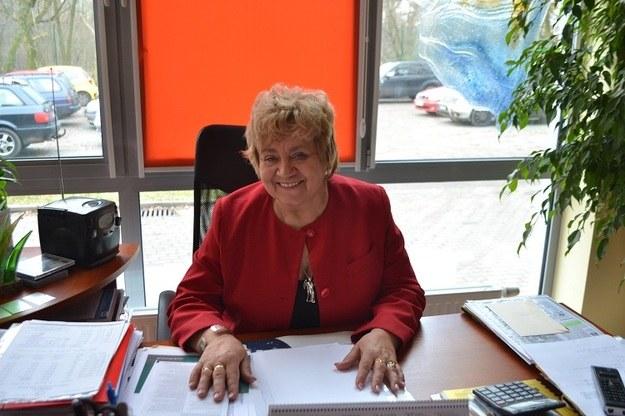 Dyrektorka Janina Mirończuk /Paweł Balinowski /RMF FM