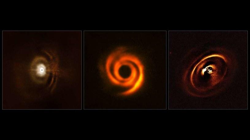 Dyski protoplanetarne mogą formować się na różne sposoby /materiały prasowe