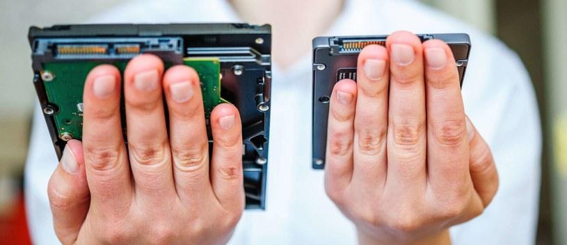 Dyski SSD systematycznie zaczynają zastępować dyski HDD /©123RF/PICSEL