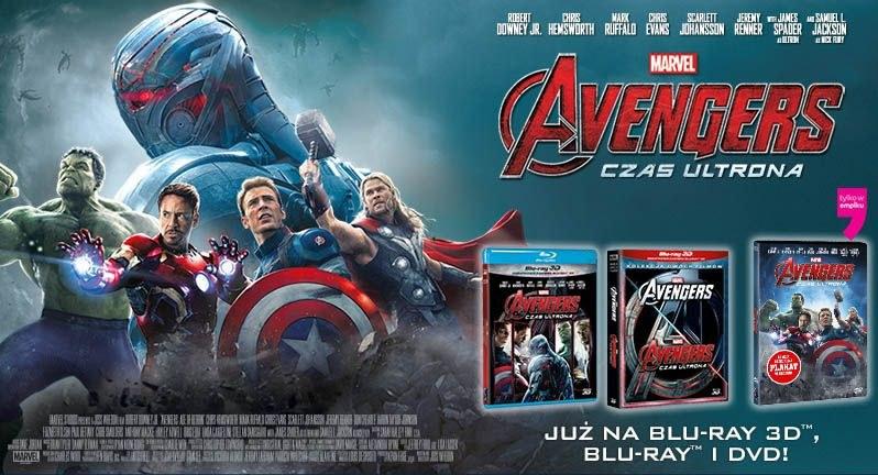 """Dystrybutorem DVD i Blu-ray z filmem """"Avengers: Czas Ultrona"""" jest Galapagos Films /materiały dystrybutora"""