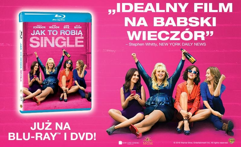 "Dystrybutorem filmu ""Jak to robią single"" na płytach DVD i Blu-ray jest Galapagos Films /materiały dystrybutora"