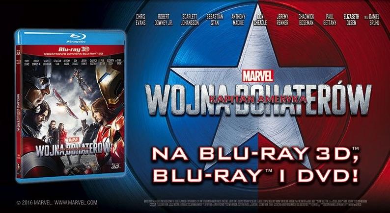 """Dystrybutorem filmu """"Kapitan Ameryka: Wojna bohaterów"""" na płytach Blu-ray i DVD jest Galapagos Films /materiały prasowe"""