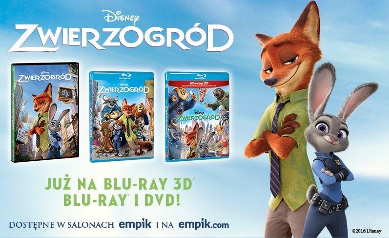 """Dystrybutorem filmu """"Zwierzogród"""" na płytach Blu-ray 3D, Blu-ray i DVD jest Galapagos Films /materiały dystrybutora"""