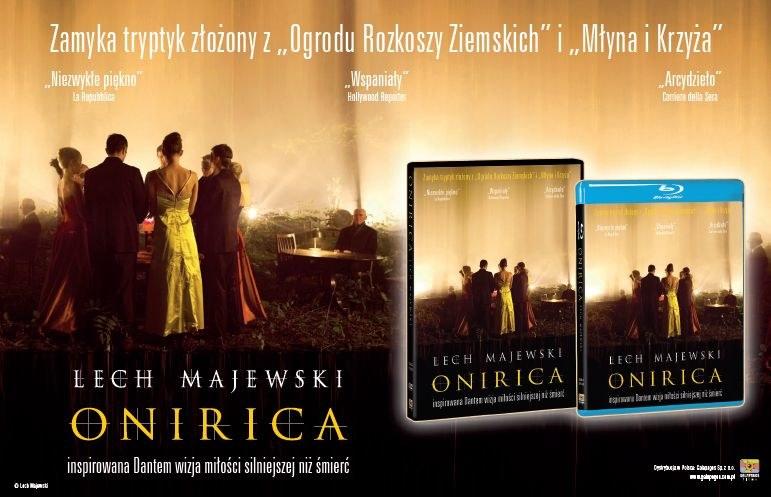 """Dystrybutorem płyt Blu-ray i DVD z filmem """"Onirica"""" jest Galapagos Films /materiały dystrybutora"""