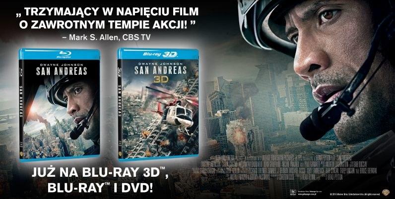 "Dystrybutorem płyt Blu-ray i DVD z filmem ""San Andreas"" jest Galapagos /materiały dystrybutora"