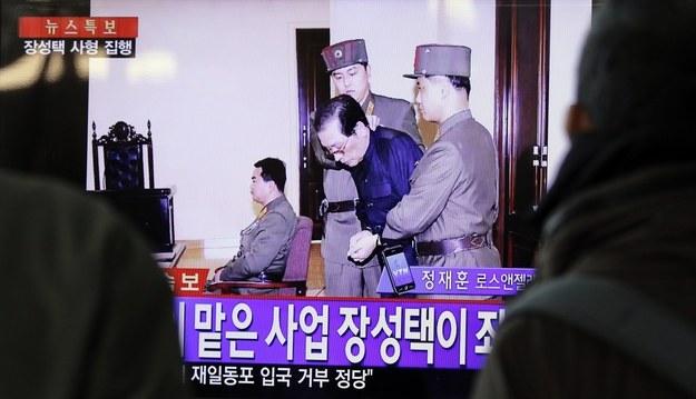 Dzang Song Thaek przed egzekucją /AFP