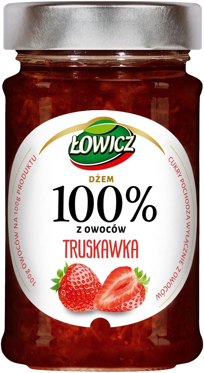 Dżem truskawkowy Łowicz /materiały prasowe