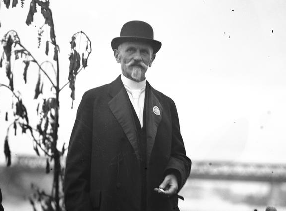 Działacz Rady Stanisław Wojciechowski został później prezydentem II Rzeczpospolitej /Z archiwum Narodowego Archiwum Cyfrowego