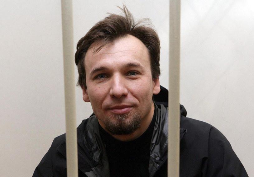 Działacz Tomasz Dziemianczuk /AFP