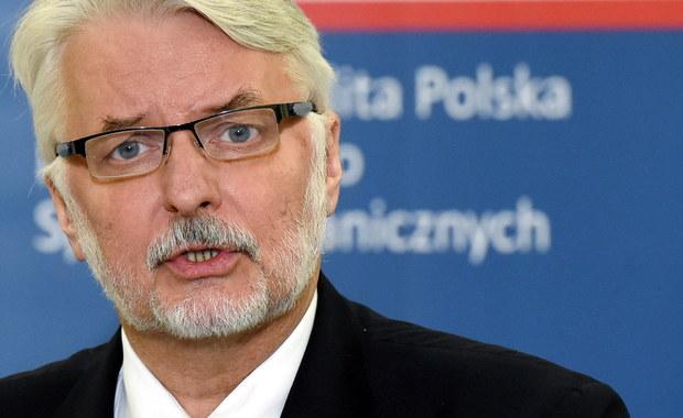 Działalność Witolda Waszczykowskiego zaprzecza słowom Jarosława Kaczyńskiego