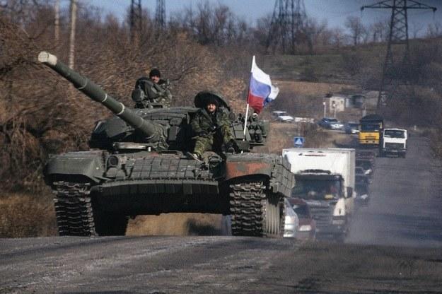 Działania Rosji na Ukrainie /AFP