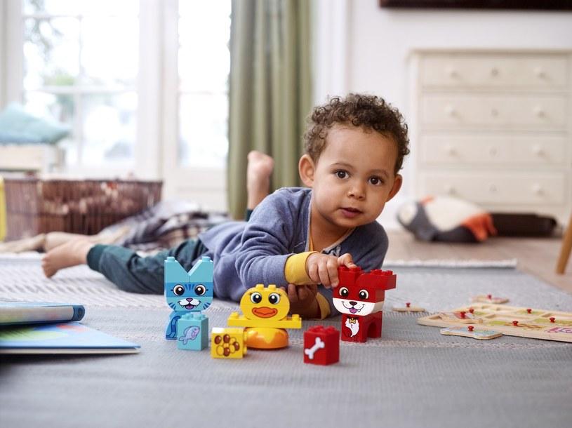Dzieci uwielbiają klocki LEGO DUPLO /materiały prasowe