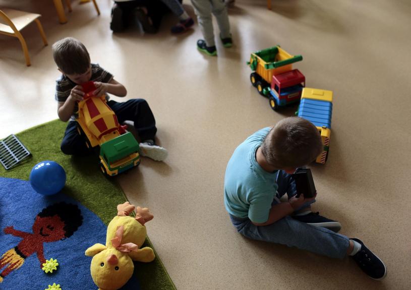 Dzieci w przedszkolu, zdjęcie ilustracyjne /Piotr Mecik /East News