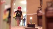 Dziecko, piłka i tort. Co z tego wyszło?