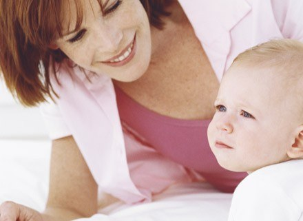 Dziecko podczas kaszlu, może mieć śluzowate wymioty