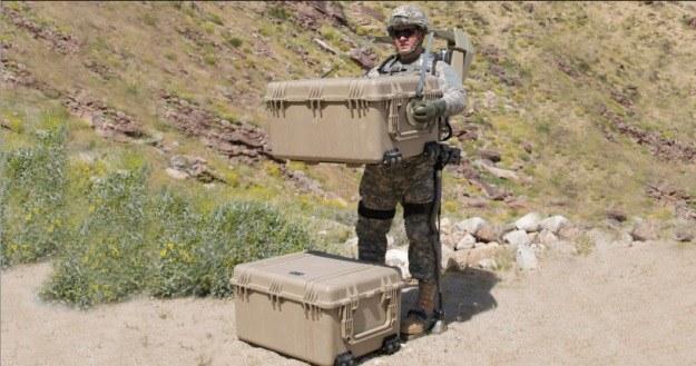 Dzięki Hulcowi żołnierze będą mogli nosić nawet 200 kg wyposażenia.   Fot. Lockheed Martin /materiały prasowe