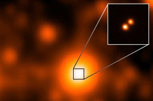 Dzięki misji WISE bardzo blisko naszej galaktyki odkryto układ podwójny gwiazd /NASA