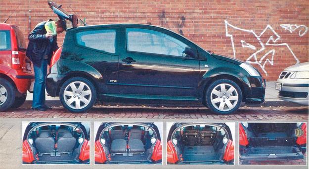 Dzielone trzecie drzwi ułatwiają dostęp do bagażnika w ciasnych, miejskich warunkach. /Motor