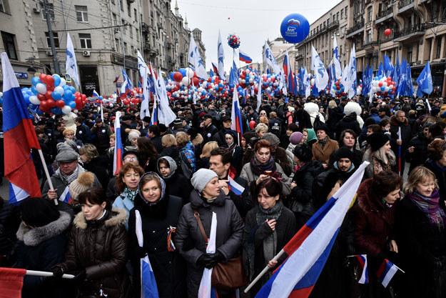 Dzień Jedności Narodowej upamiętnia rocznicę wyzwolenia Moskwy spod polskich rządów /AFP