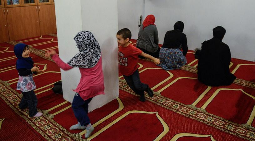 Dzień otwarty w Centrum Kultury Islamu w meczecie przy ulicy Wierniczej w Warszawie, 25 stycznia 2015 /Jakub Kamiński   /PAP