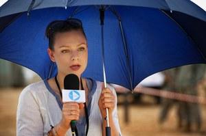 Dziennikarka Marta (Magdalena Boczarska) to kobieta sukcesu /    /Akson Studio
