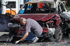 Dziennikarz Paweł Szeremet zginął w zamachu. Samochód, którym jechał, eksplodował w Kijowie