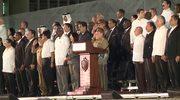 Dziesiątki tysięcy ludzi upamiętniły F. Castro. Wśród nich przywódcy państw